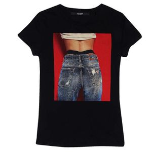 T-SHIRT t-shirt guess w84i60 k51r0 jblk