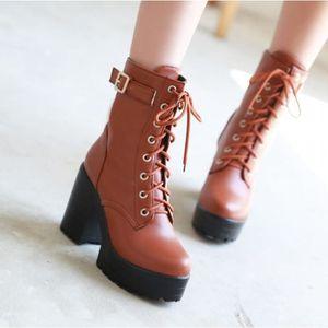 BOTTINE Chaussures mode pour femmes Bottines compensées en