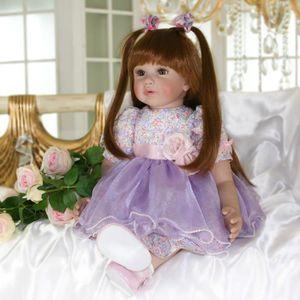 POUPÉE Bebe reborn princesse silicone poupées reborn gran