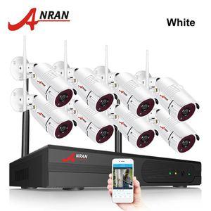 CAMÉRA DE SURVEILLANCE 8CH NVR 1080P Wifi Kit Caméra de surveillance sans