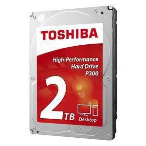 DISQUE DUR INTERNE Disque dur 3.5' TOSHIBA P300 2 TO 7200 RPM 64 Mo S