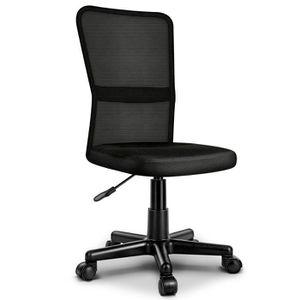CHAISE DE BUREAU TRESKO Chaise de bureau NOIR, Fauteuil de bureau -