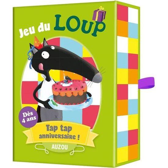 Jeu De Carte Loup Tap Tap Anniversaire Des 4 Ans Jouets Enfants Observer Memoriser Rapidite Achat Vente Cartes De Jeu Cdiscount