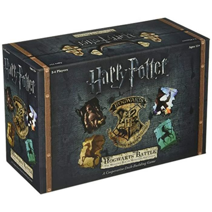Piece Detachee Table Multi-Jeux VEV3I Hogwarts Battle - The Monster Box of Monsters Expansion Card Game