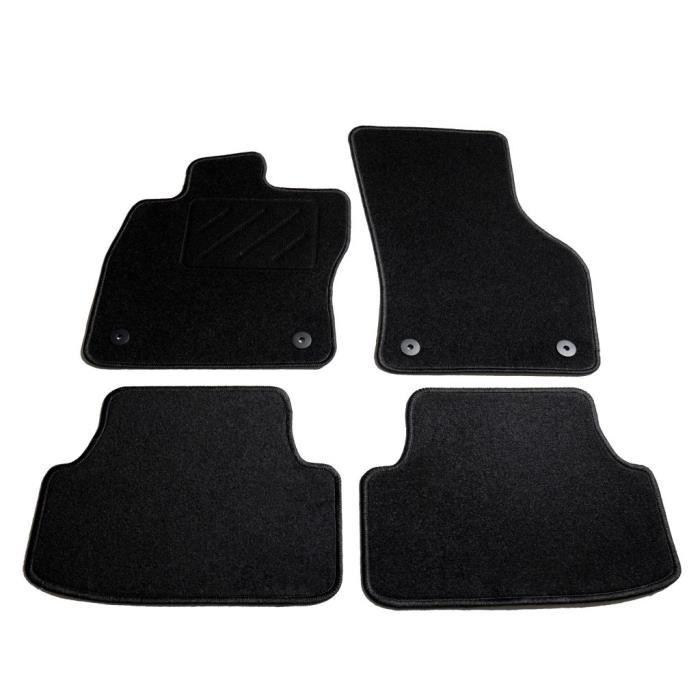 Ensemble de tapis de voiture 4 pcs-Housses et tapis pour véhicules pour VW Golf 7