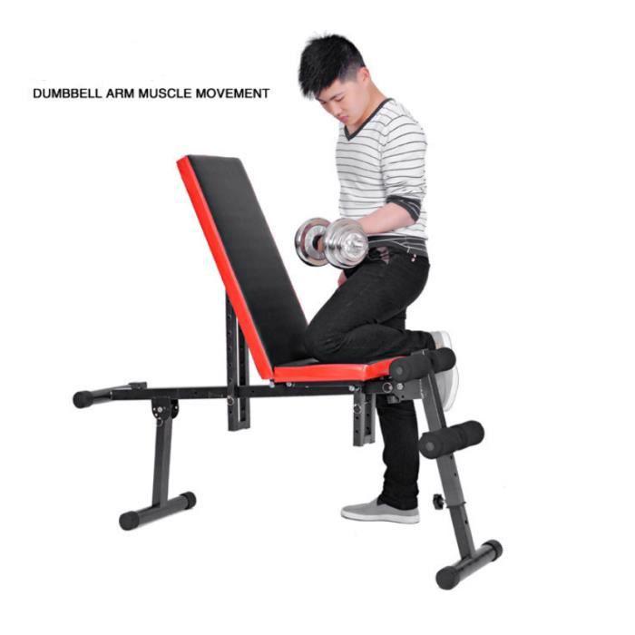 Planche abdominale multifonctionnelle pour banc assis