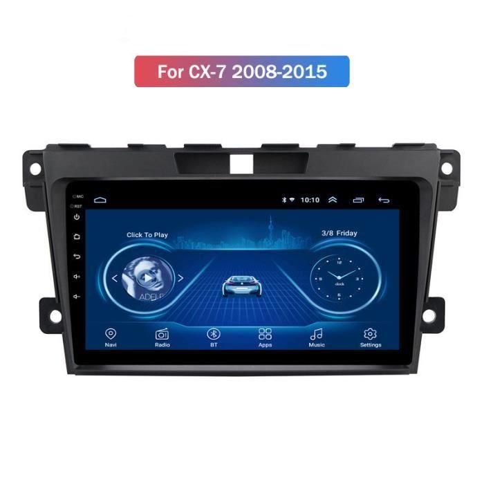 Convient pour Mazda CX-7 07-15 Android 1 + 16GB navigateur GPS multimédia connecté à la voiture Le prix du produit comprend un cad