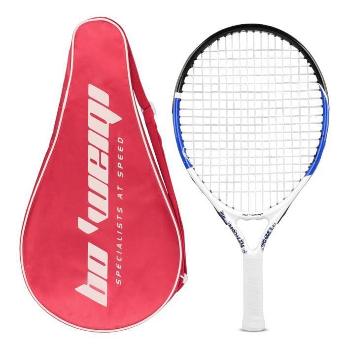 Calmare Raquette de Tennis, Raquette de Tennis en Aluminium y Compris Le Sac de Tennis-Raquettes de Tennis pour Les Enfants, Les