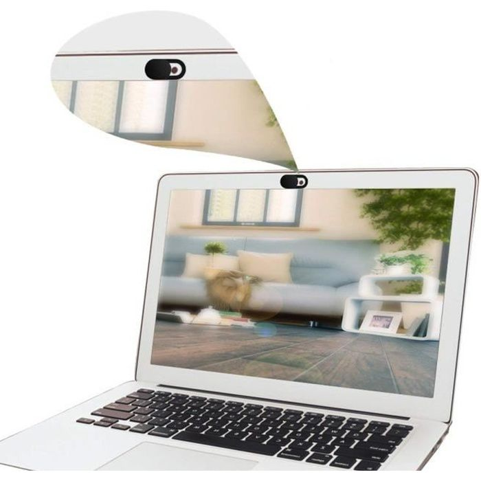 Cabling Cache Webcam ordinateur portable , webcam cache glissière de protection webcam, laptop webcam cover s'adapte aux Macboook