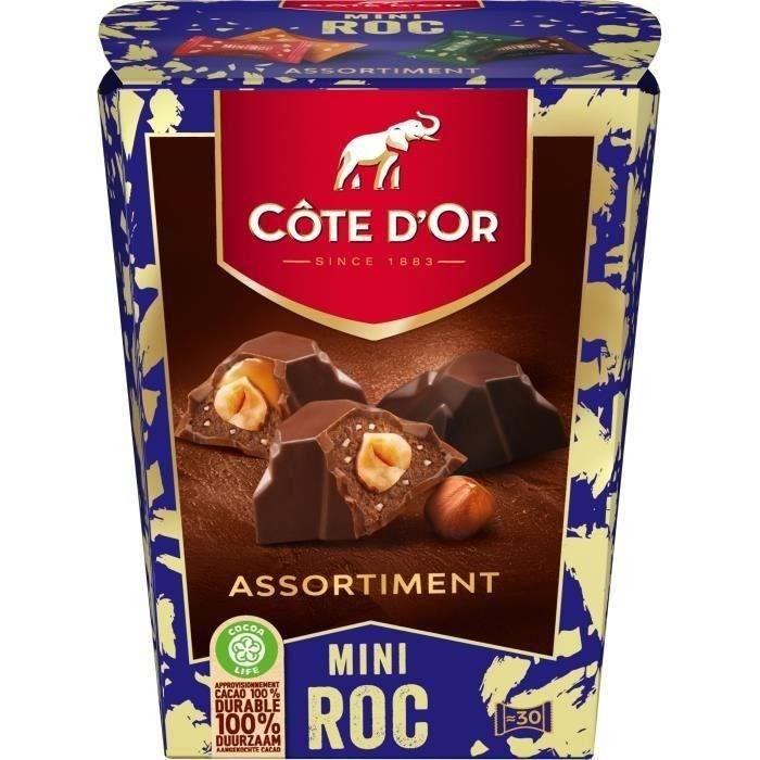 CÔTE D'OR - Chocolats de Noël - Mini Roc Mix - 279 g