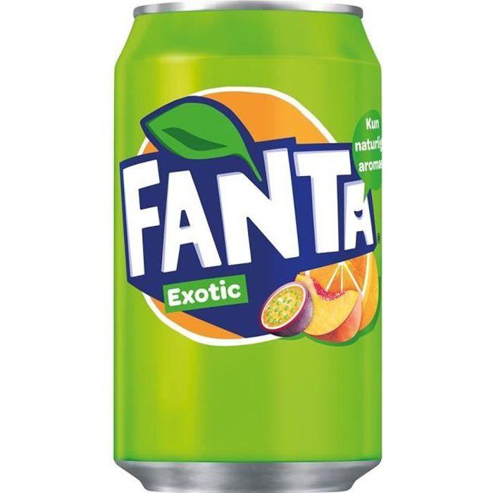 Fanta Exotique 33cl (pack de 24)