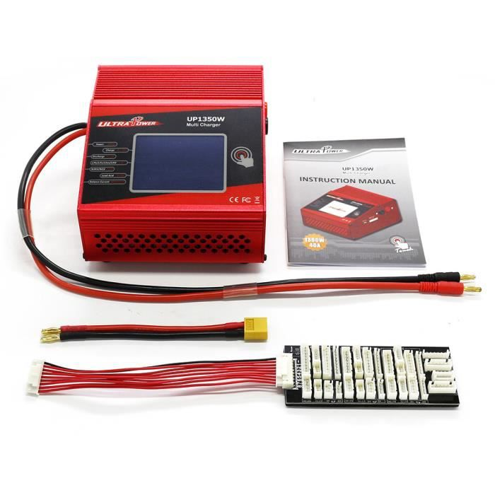 Goolsky ULTRA PUISSANCE UP1350W Touch 1350 W Haute Puissance 1-8 S LiIo - LiPo - LiFe - LiHV - NiCd - NiMH Batterie Chargeur