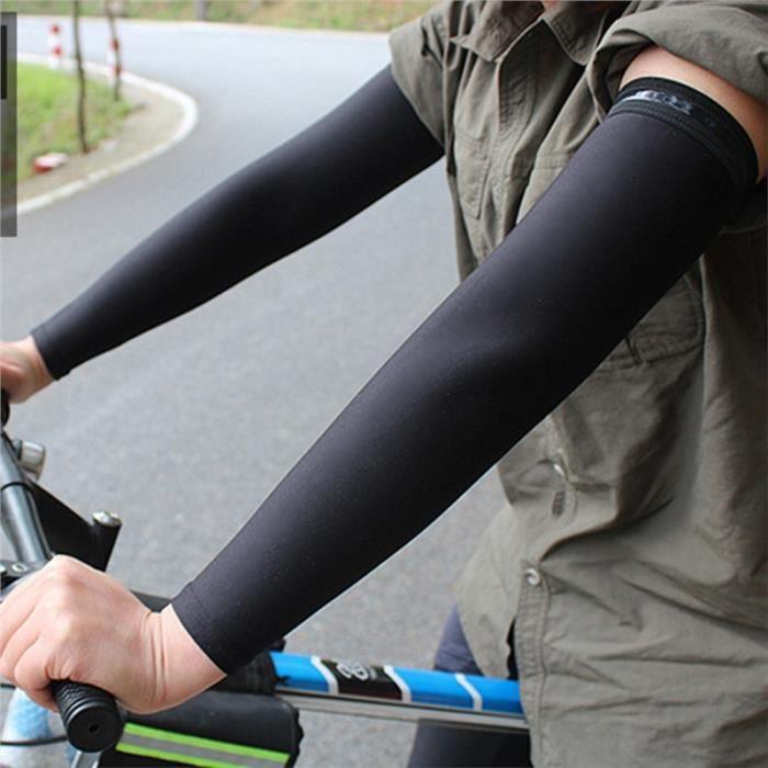 Manches de refroidissement pour glace pour protection UV pour Sports Activités de plein air