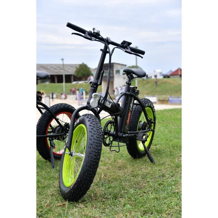 Cannibal Fat bike vélo a assistance électrique pliable