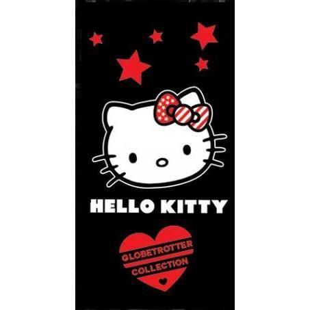 Drap de plage Hello Kitty 70 x 140 cm