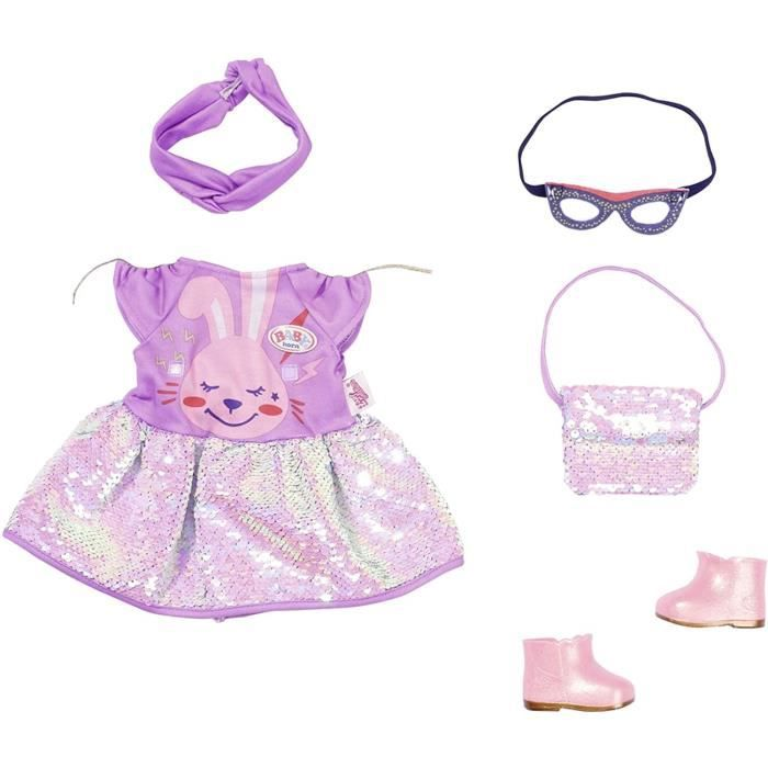 Zapf Creation 830796 Baby born Deluxe Happy Birthday Outfit 43cm