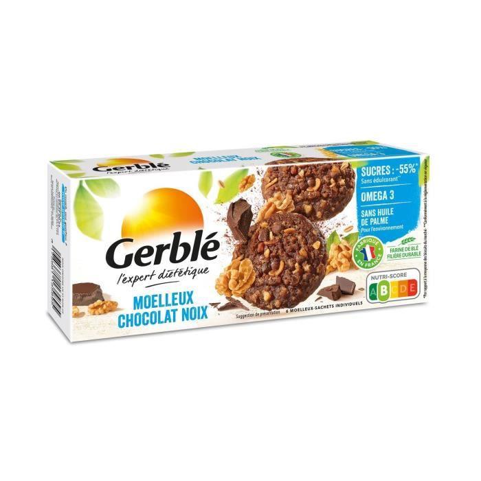 GERBLE Moelleux aux noix et au chocolat - 138 g