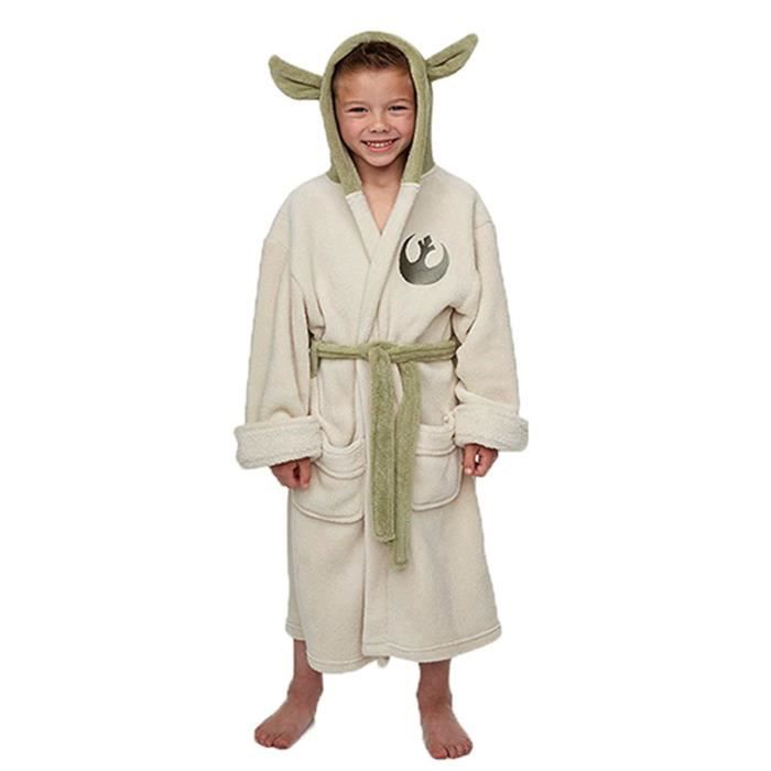 star wars yoda robe de bain pour enfant achat vente d guisement panoplie cdiscount. Black Bedroom Furniture Sets. Home Design Ideas