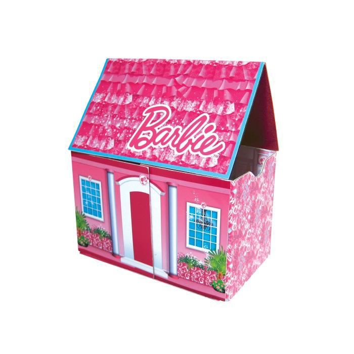bo te de rangement barbie zipbin manoir fashion achat vente coffre jouets 2009927694796. Black Bedroom Furniture Sets. Home Design Ideas