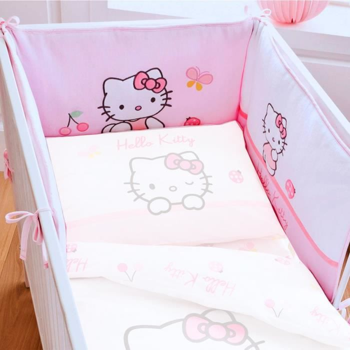 peinture chambre fille hello kitty chambre de bb fille hello kitty tour - Hello Kitty Chambre Bebe