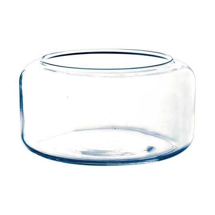 Vase Tube INNA-Glas Vase soliflore en Verre Wilma Transparent /Ø 3cm Vase cylindrique 32cm