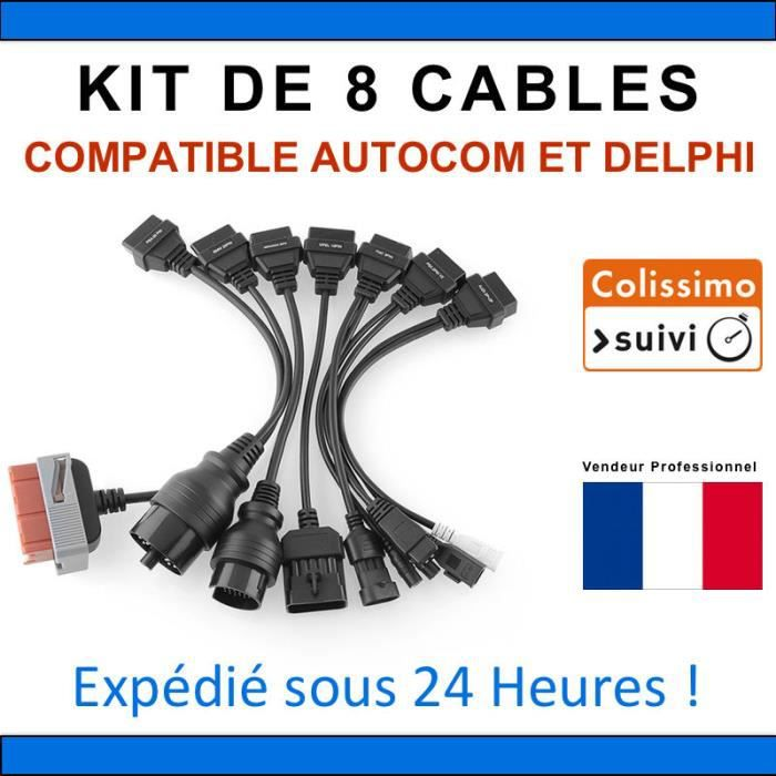 adaptateur diagnostique obd achat vente adaptateur diagnostique obd pas cher cdiscount. Black Bedroom Furniture Sets. Home Design Ideas
