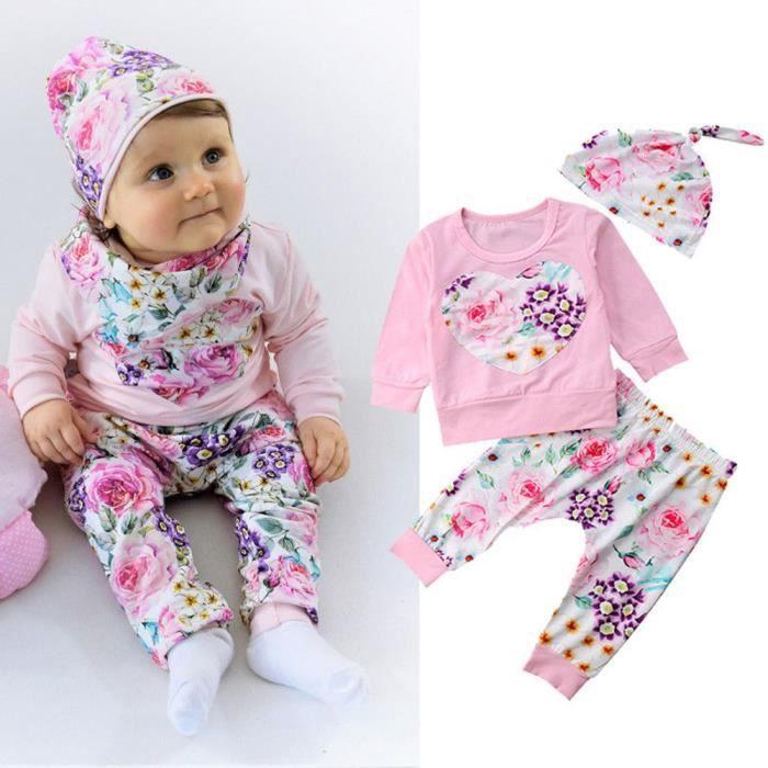 Pantalons Tenues Casual Vêtements Set 2PCS enfant nouveau-né bébé garçon t-shirt Tops