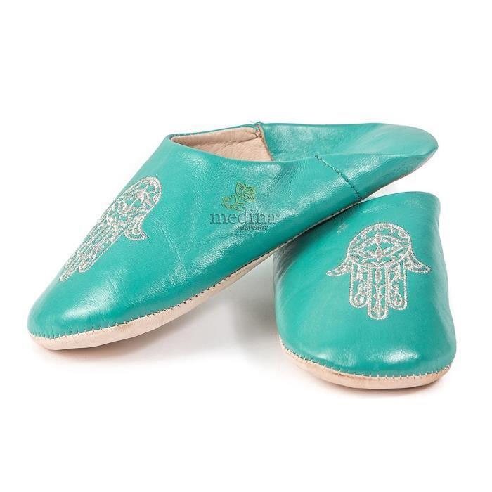 Oriental Chaussures Babouche Chaussons pantoufle pantoufles en provenance du Maroc-Femmes