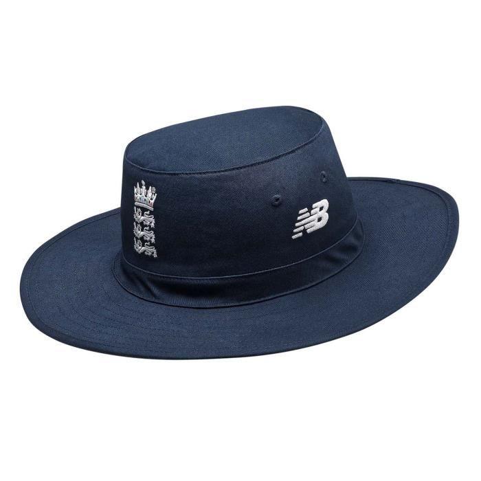 New Balance England Chapeau Cricket Panama Homme Bleu - Cdiscount ...