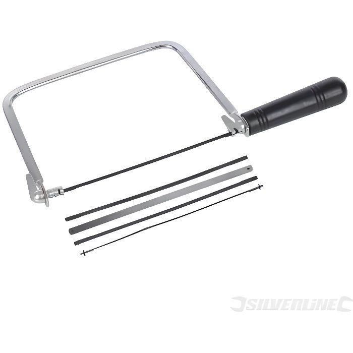 Silverline 783170 10 lames pour scie /à chantourner 130 mm 10 TPI