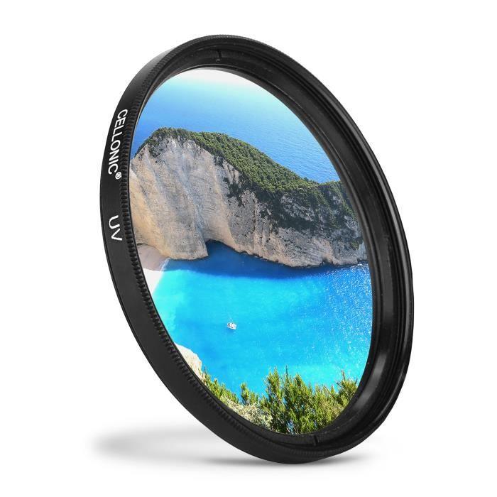 /Ø 62mm CELLONIC Filtre de Fluorescence FLD Filtre Compatible avec Panasonic Leica DG Summilux 25mm F1,4 Asph Lumix G Vario HD
