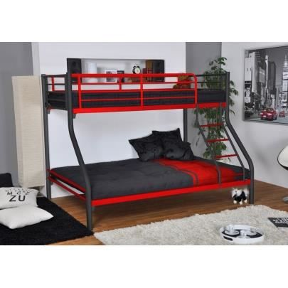 lits superpos s elevatio ii 90 140x190cm. Black Bedroom Furniture Sets. Home Design Ideas