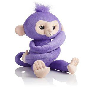 Purple Wow Wee 3531 WOWWEE Fingerlings Hugs AFFE lila