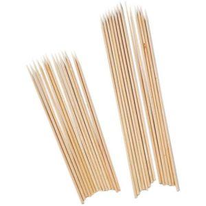DOCTEUR - VÉTÉRINAIRE Docteur 10511 bâtons en bambou Shashlik Ensemble d