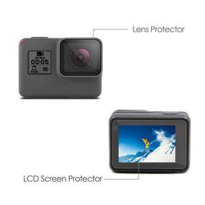 FILM PROTECTION ÉCRAN Protecteur d'écran LCD + Objectif Protrector Film