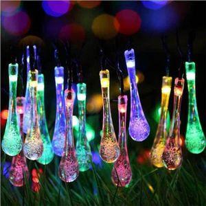 LAMPE DE JARDIN  Guirlande Lumineuse LED Solaire 200 AmpoulesEtanch