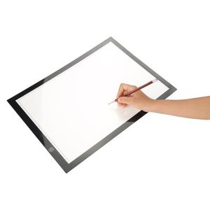 TABLE A DESSIN LED tablette Lumineuse a Dessin A3 Multifonction