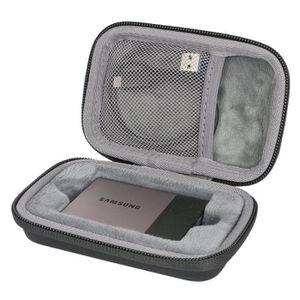 DISQUE DUR EXTERNE Étui de Voyage Rigide Housse Cas pour Samsung Disq