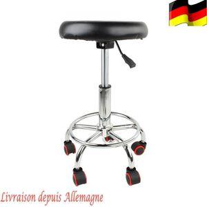 FAUTEUIL DE COIFFURE - BARBIER Chaise pivotante réglable pour Salon de coiffure E