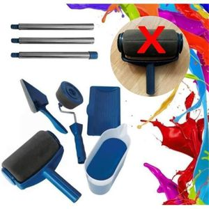ROULEAU DE PEINTURE 8pcs Kit Rouleau de Peinture Paint Runner Pro Roll