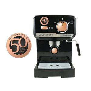 MACHINE À CAFÉ BEPER BC.001 Machine expresso classique - Noir