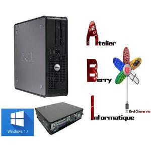 UNITÉ CENTRALE  PC DELL Optiplex 755 SFF windows 10