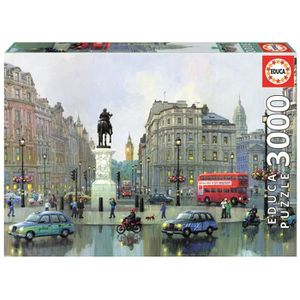PUZZLE EDUCA Puzzle 3000 Pièces - London Charing Cross