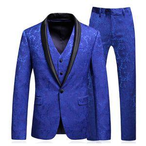 COSTUME - TAILLEUR Costume Homme de Marque Costume Impression d'affai