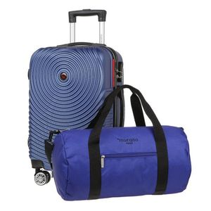 VALISE - BAGAGE MURANO Valise cabine 55cm avec Sac bowling - Coule