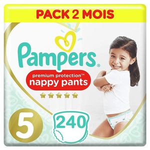 COUCHE PAMPERS Premium Protection Pants Taille 5 (12-17kg