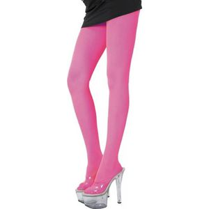 COLLANT - JAMBIERE COLLANT ROSE FLUO ADULTE acab29808e4