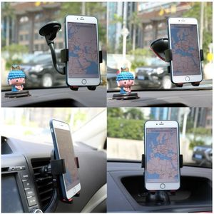 FIXATION - SUPPORT Support Téléphone Voiture 360° Rotation 3 en1 Auto
