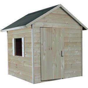MAISONNETTE EXTÉRIEURE Cabane en bois pour enfant  LILAS