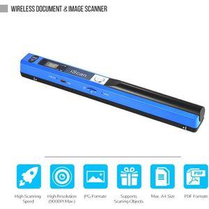 SCANNER Portable Sans fil Document Scanner A4 900DPI JPG/P